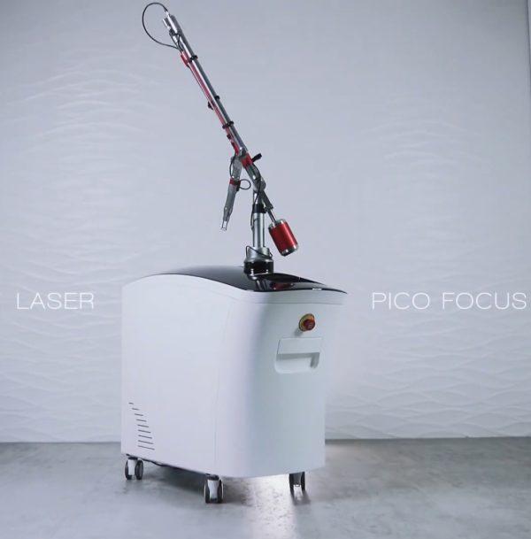 pico second tatueringsborttagning och hudföryngring laser maskin